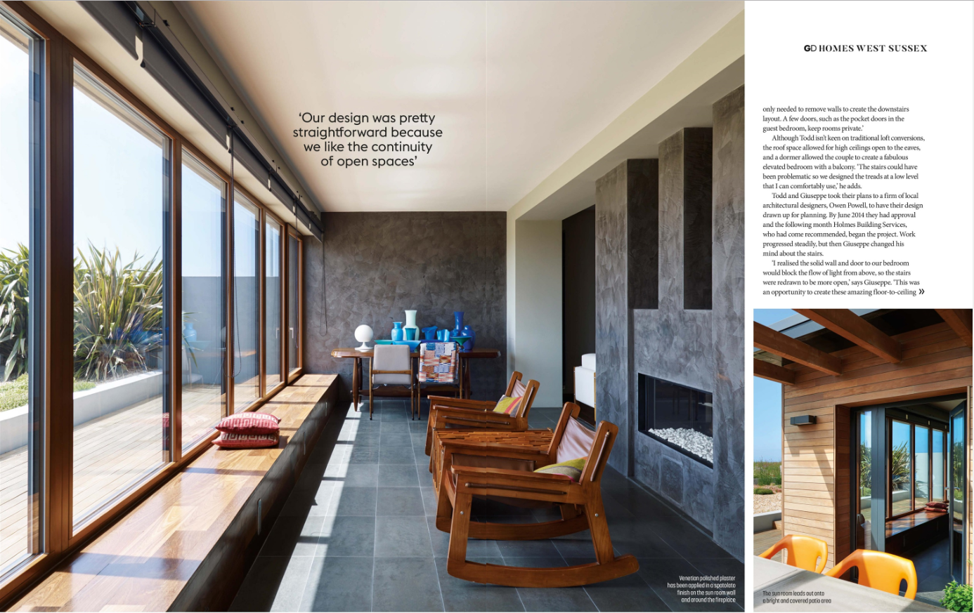Grand Designs magazine beach house..
